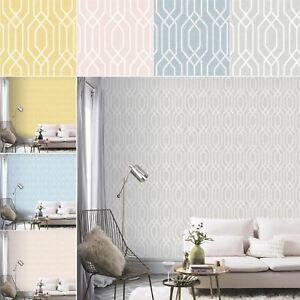 New-York-Geometric-Wallpaper-Trellis-Hexagon-Modern-Luxury-Decor-Arthouse