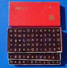 ABC + 1x1 Spiel Gesellschaftsspiel Schowanek aus den 50er Jahren RAR