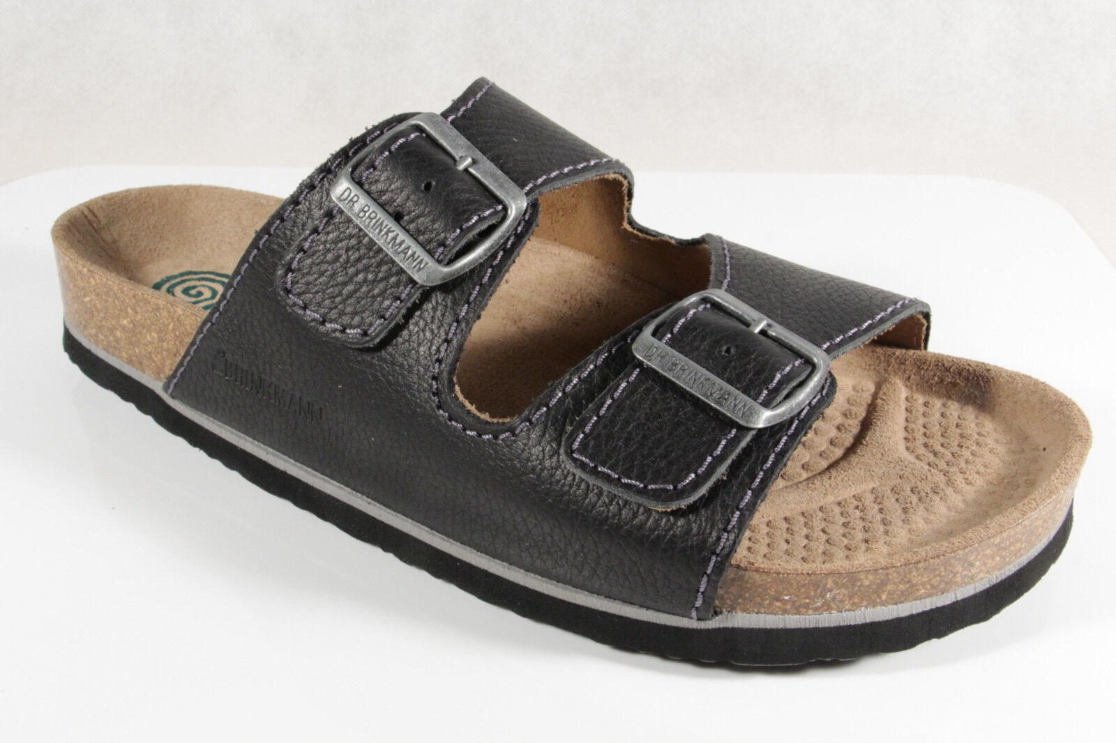 Dr. Brinkmann  Herren Form Pantolette Pantoffel schwarz breite Form Herren NEU 23bc13