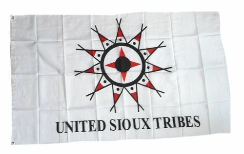 Fahne / Flagge Indianer - United Sioux NEU 90 x 150 cm