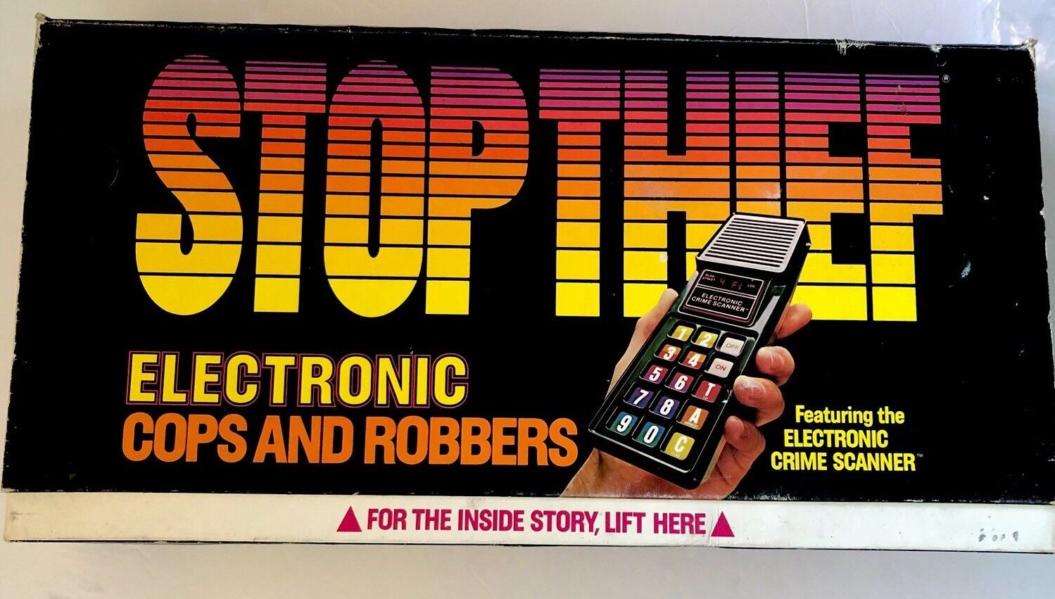 Parker Bros STOP THIEF 1979 Electronic COPS COPS COPS And ROBBERS GAME  3500 Box 100% 0bb62d
