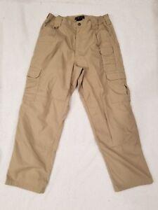 5bf6637d Details about 5.11 Tactical Men's Khaki Cargo Pants Size 32 x 30 EUC