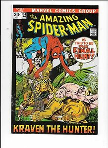 The-Amazing-Spider-Man-104-January-1972-Kraven-The-Hunter