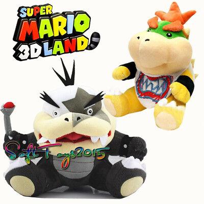 Super Mario Series Morton Koopa Jr 8 inch Plush Doll Figure Stuffed Toy Gift