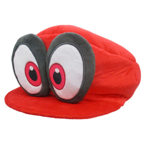 REAL  Little Buddy 1659 Super Mario Odyssey Red Cappy Plush Mario/'s Hat