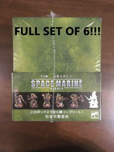 FULL SET Warhammer 40k  Space Marine Heroes Series 3 Death Guard