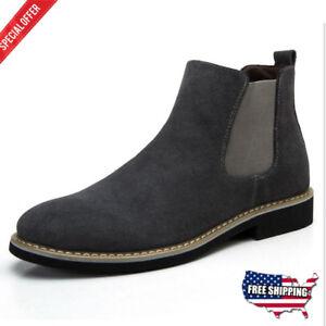 envío gratis 7bbac b1a3b Details about Zapatos Botas para hombres Botines Elengents Zapatos casuales  De Moda 2018
