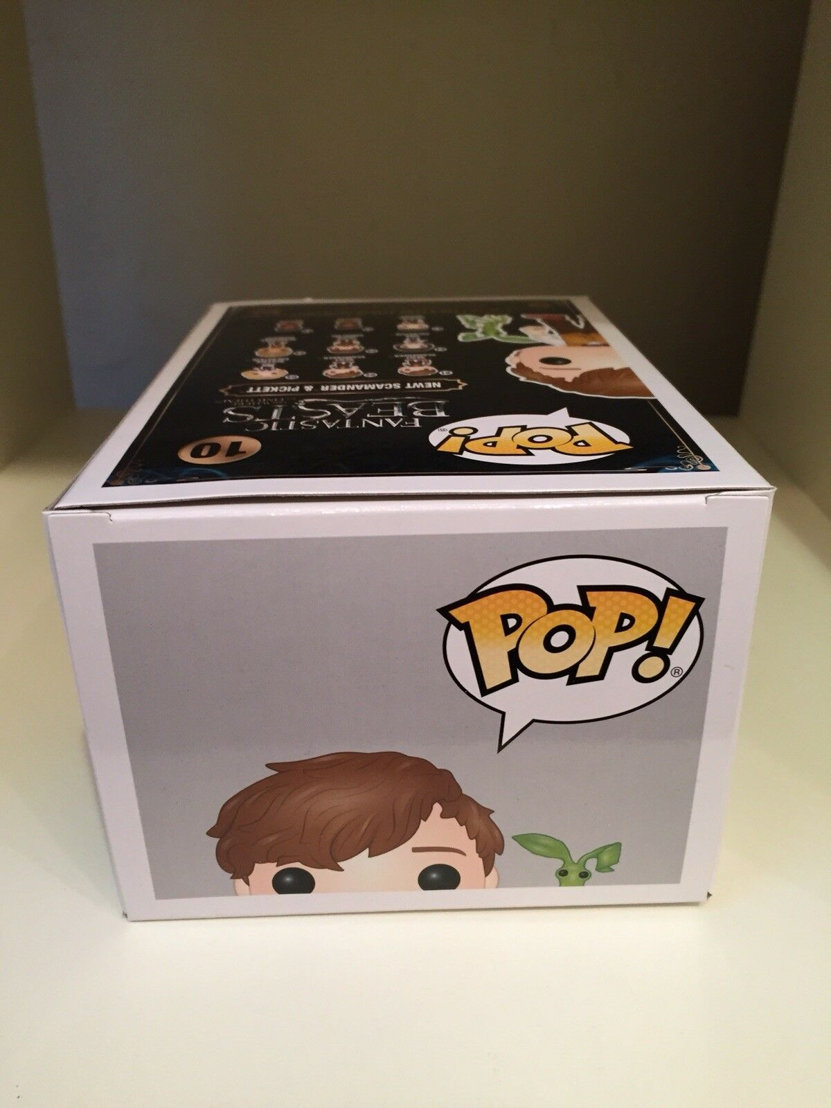 NEWT SCAMANDER PICKETT HOT TOPIC LIMITED EDT EDT EDT EXCLUSIVE FUNKO POP FANTASTICBEASTS 8d8b7d
