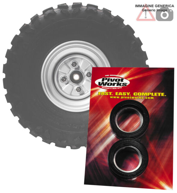 Kit cojinete rueda traseras Suzuki 250cc RM250 2003 PIVOT WORKS PWRWK-S13-021