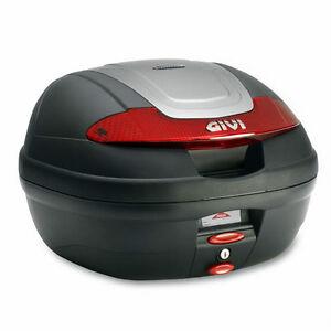 GIVI-BAULETTO-MONOLOCK-E340N-VISION-34LT-NERO-MOTO-TOP-CASE-BLACK-HONDA