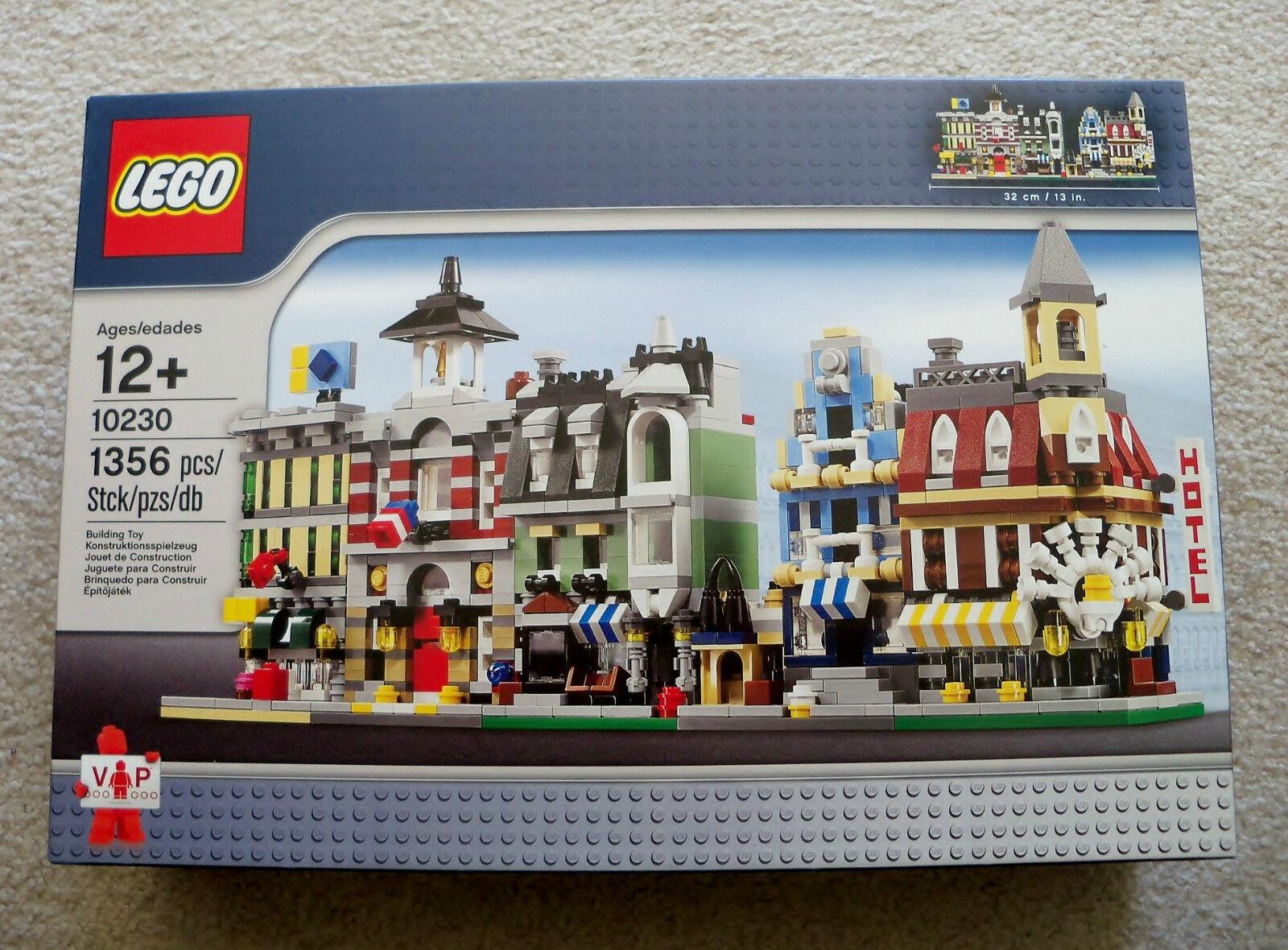 LEGO Creator Modular Modular Modular Buildings - 10230 Mini Modulars - New & Sealed ebb65b