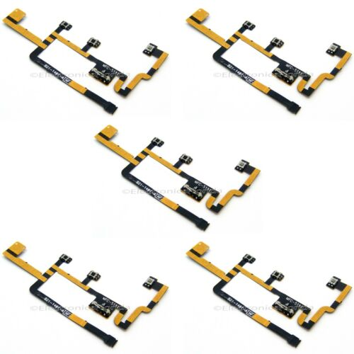 *LOT Power On Off Switch Mute Volume Button Flex Cable for Apple iPad 2 CDMA b28