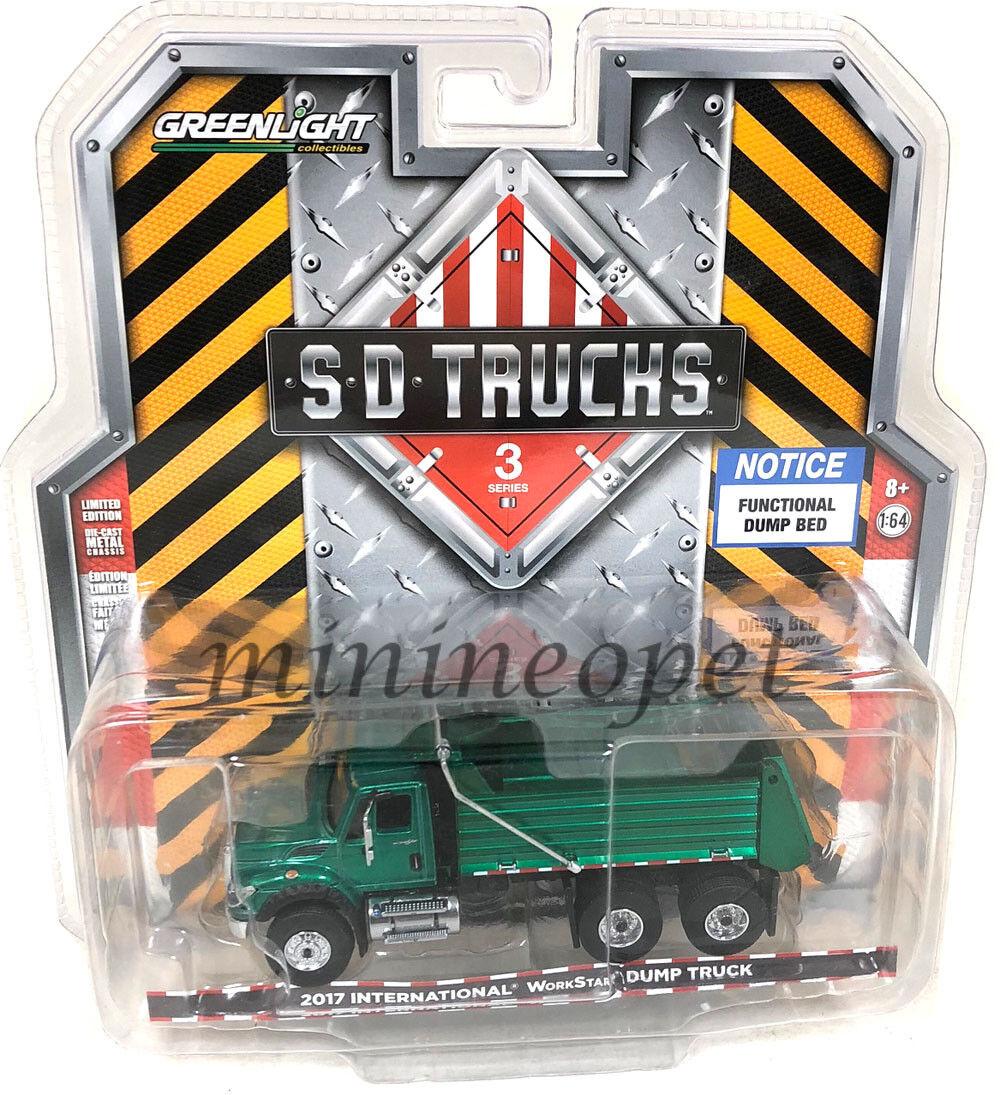 verdelight 45030 A 2017 International workstar camión 1 1 1 64 verde Chase d5d7e5