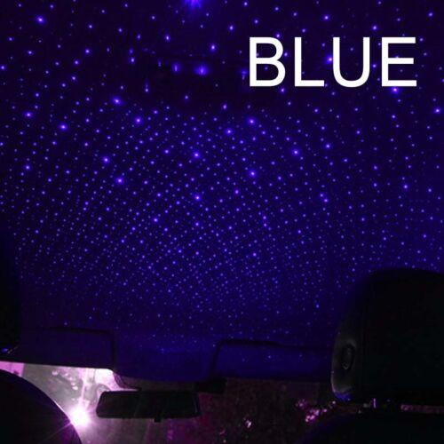 UK Mini USB LED Car Roof Star Night Lights Projector Light Car Atmosphere Light