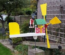 Well Winder Whirligig, Windmill, Whirlygig,  Garden Windmill, Wind Spinner