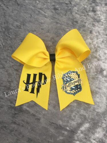 Harry Potter 4.5/'/' Hufflepuff Hair Bow handmade