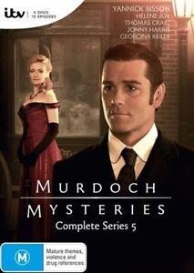 Murdoch-Mysteries-Series-5-DVD-NEW-Region-4-Australia
