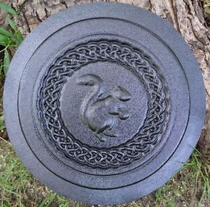 Celtic knot stepping stone mold plastic casting mould