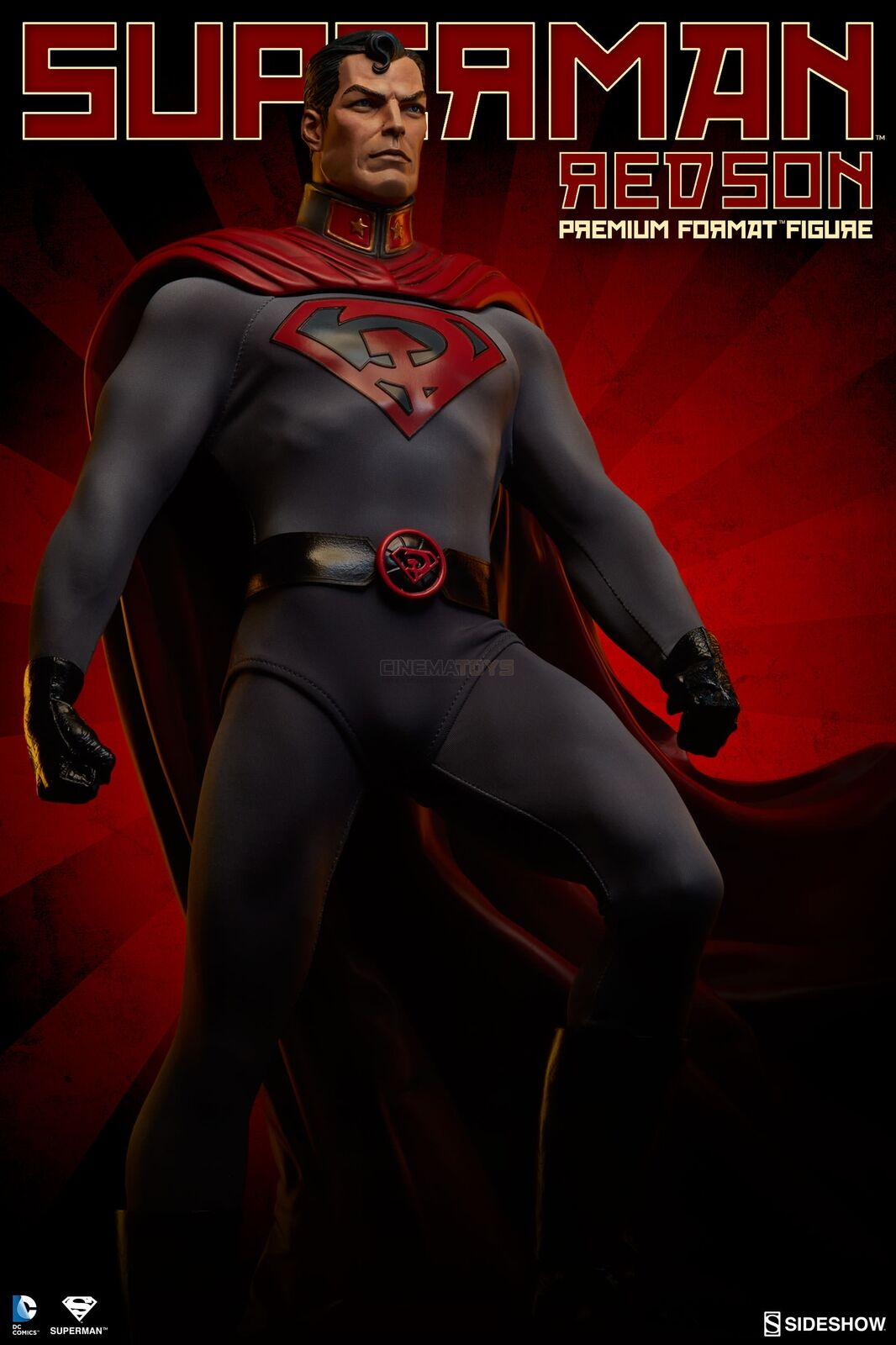 DC Superman The Man of Steel Red Son Premium Format Figure Sideshow Statue