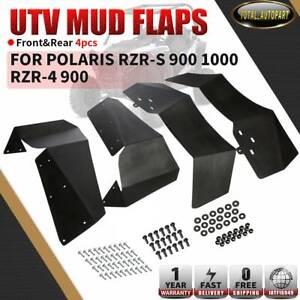 4x-Mud-Flaps-Splash-Guard-Fender-Flares-for-Polaris-RZR-S-900-1000-RZR-4-900-UTV