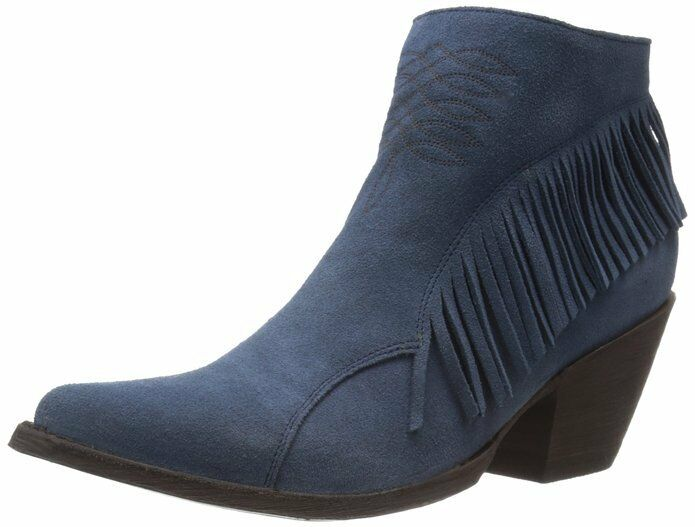 New Nina in Box OG by Old Gringo Damens Nina New Ankle Boot blau Suede Size 7.5 7686b4