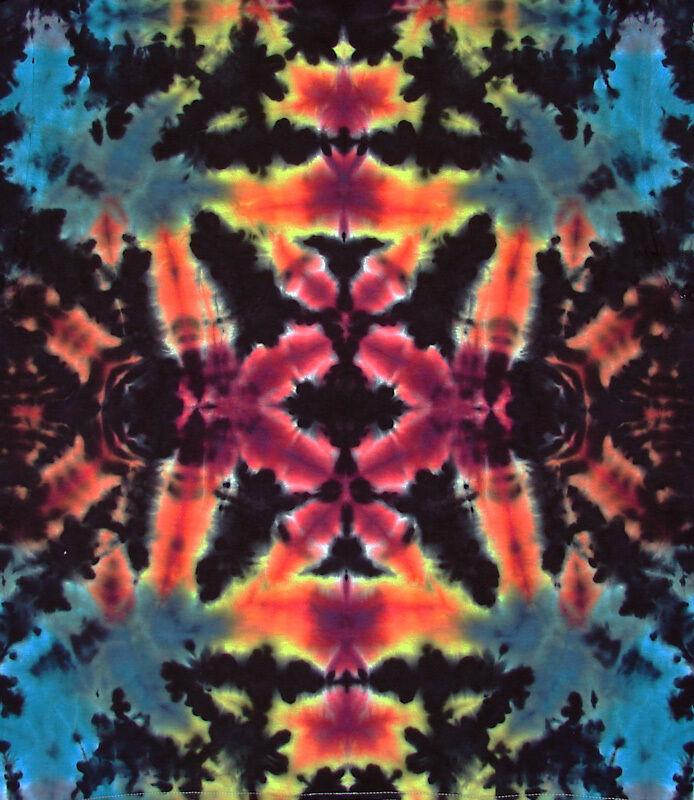 T-Shirt Gr.S Gr.S Gr.S - 5XL kurzarm handgefärbt Hippie Tie dye Batik Flower Power Goa NEU | Verbraucher zuerst  | Online Shop  1cfaff
