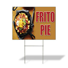 Weatherproof Yard Sign Frito Pie Outdoor Advertising Printing A Lawn Garden