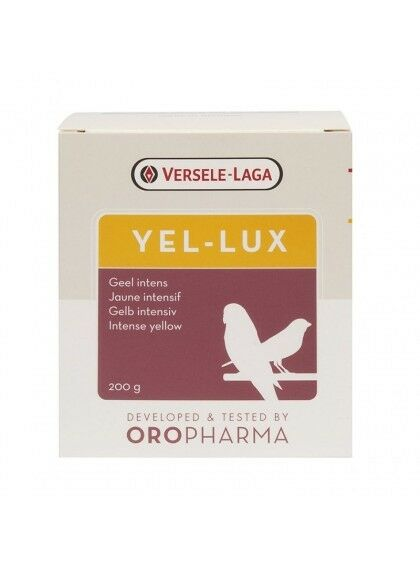 goldpharma Yel - lux - 200g Versele Laga YEL LUX for all Birds - 200gr