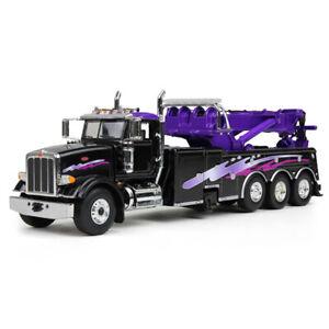 1-50-First-Gear-BLACK-amp-PURPLE-PETERBILT-367-Miller-Rotator-Wrecker-50-3343-NIB