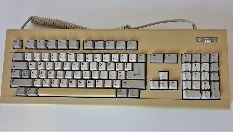 ** SOLGT ** Amiga keyboard, andet, Rimelig