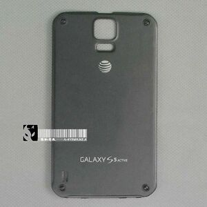 new product 9cc1b 49b95 Details about New Battery Back Door Cover For Samsung Galaxy S5 Active  SM-G870A Gray