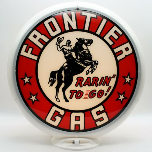 READY FOR YOUR PUMP!! SHIPS FULLY ASSEMBLED FRONTIER Gas Gas Pump Globe