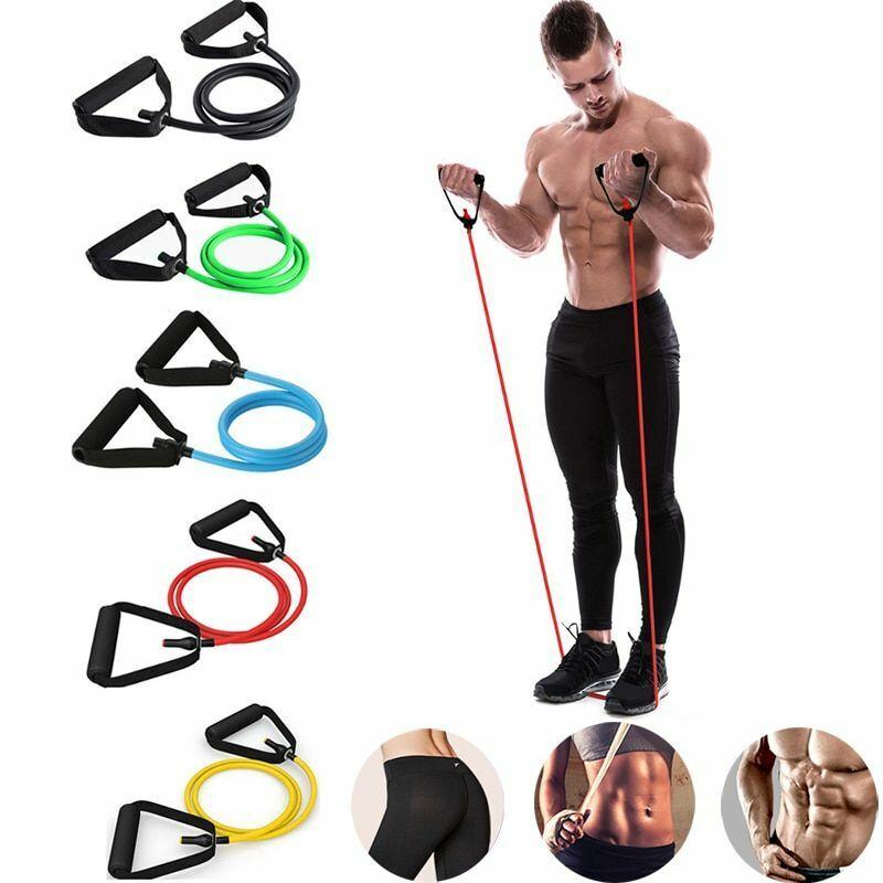 Fitness Latex Pilates Equipment Band Yoga Gym Pull