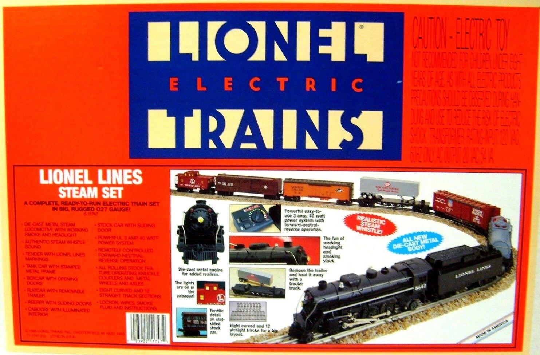 LIONEL 6-11747 LIONEL LINES STEAM  TRAIN SET    NEW
