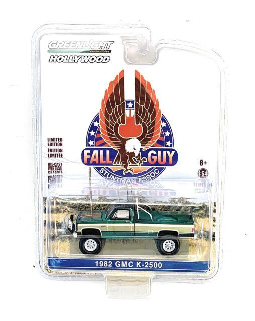 Greenlight 1//64 1982 GMC K-2500 Fall Guy Pick 44860 F NEUF