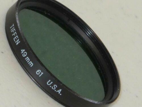 Tiffen 49mm 61 Filtro di fotocamera Verde Nuovo in Scatola