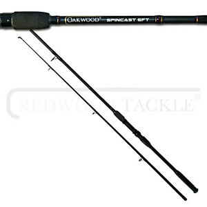 Brand new oakwood 6ft spinning carp fishing rod with rod for Best fishing pole brands