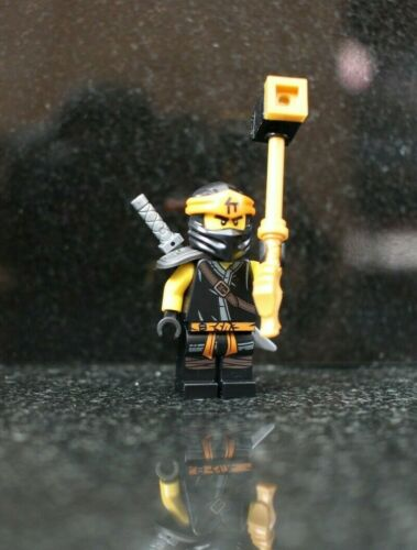 NEW LEGO MINIFIGURE COLE NJO532 FROM NINJAGO SET 70678 geniune 2019