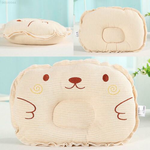 Soft Baby Pillow Cushion Stripes For Infants Kids Soothing Baby Care Bedding