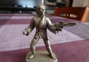 Luke Skywalker-star Wars Figure en métal-1/30 (60mm) lic.lucas Films Import.   Etats-Unis.