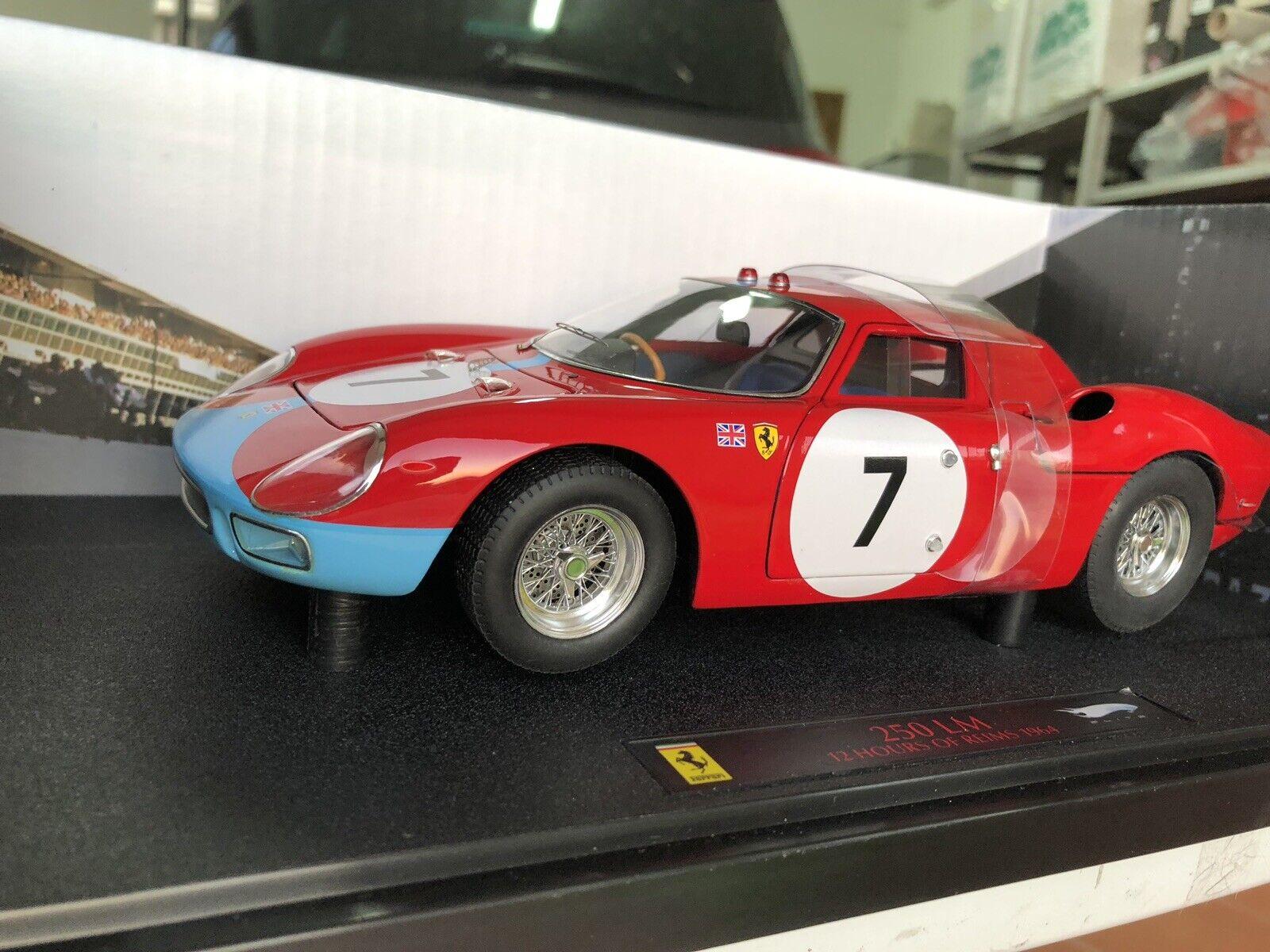 HOTWtalons 1 18 ELITE Ferrari  250lm 12h Microcomputer 1964 rouge  7  forme unique