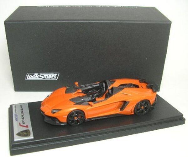 Lamborghini Aventador J (Orange) Genève motor show 2012