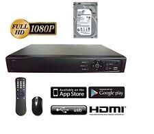 16ch HD-TVI hybrid DVR system, TVI/Analog/IP, HDMI, Phone App installed 4TB