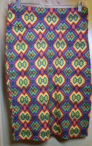 Diamond Nwt Yellow Caleidoscopio Purple Lularoe Multi Gonna M Print Aztec Cassie wTqY4rxOT