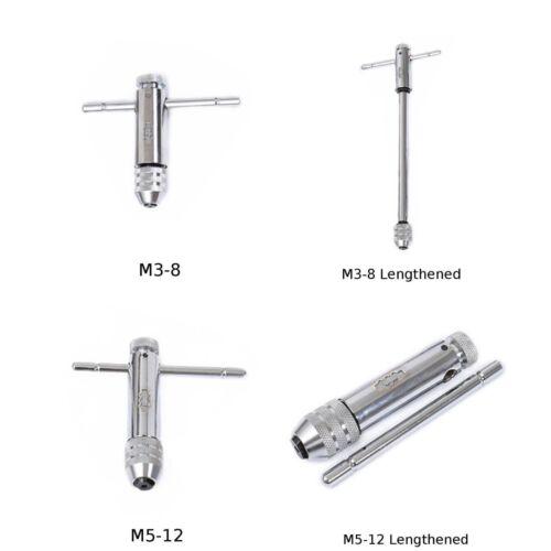1PC Tourne-à-gauche M3-M8//M5-M12 Cliquet Robinet Tournevis Clé Outils à Main