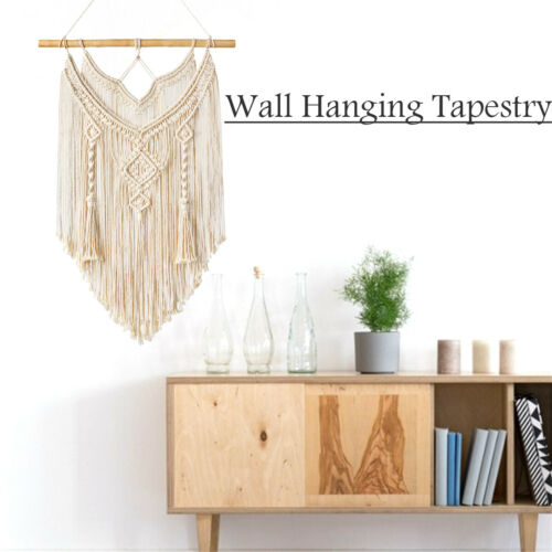 Macrame Wall Hanging Tapestry Wall Decor Boho Chic Woven Home Decor`