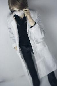 """BJD White Loose Shirt Outfits Cloth For Female 1//3 24/"""" 60cm SD DK DZ AOD Doll"""