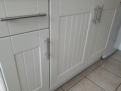 New Kitchen Ivory Replacement Grooved, New Kitchen Cabinet Doors And Drawers