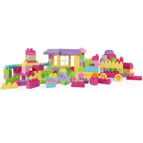 Bausteine Set Kinder Spielzeug WADER Box Karton Steckbausteine