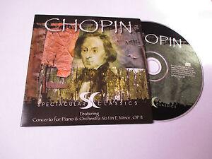 CD-Serie-Spectaculars-Classics-Chopin-pochette-cartonnee